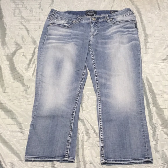 d0281b7e Silver Jeans Jeans | Silver Capri New Without Tag | Poshmark